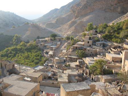 منظر عمومی روستای مارین